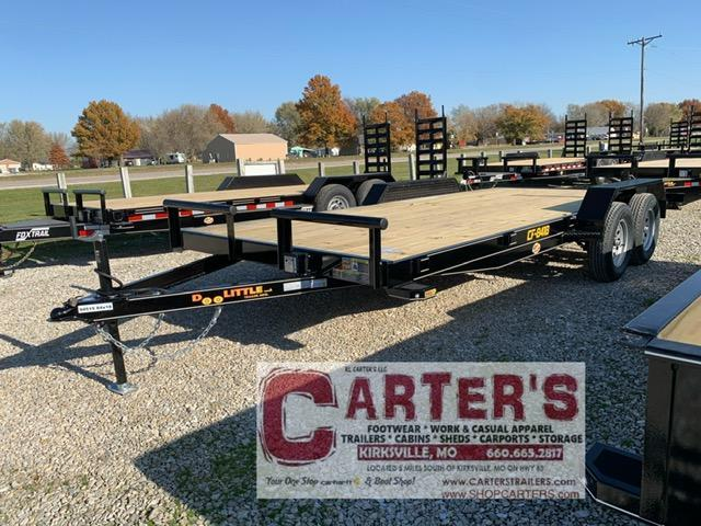 "2021 Doolittle 84"" X 16' + 2' DOVE CF Equipment Trailer"