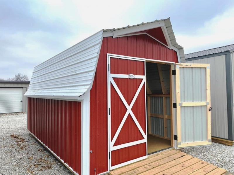9 X 16 MINI BARN BY MIDWEST STORAGE BARNS