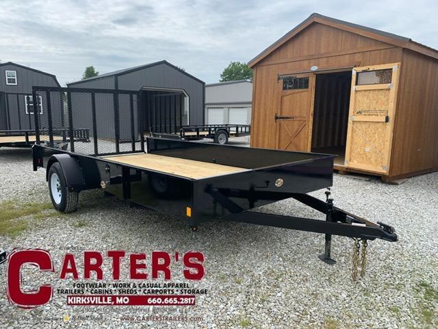 2021 HP Trailers 84 X 14 SS Utility Trailer