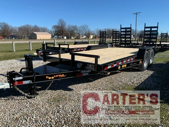 "2021 Doolittle 82"" x 16' + 2' Dove Xtreme Equipment Trailer 14K GVWR"