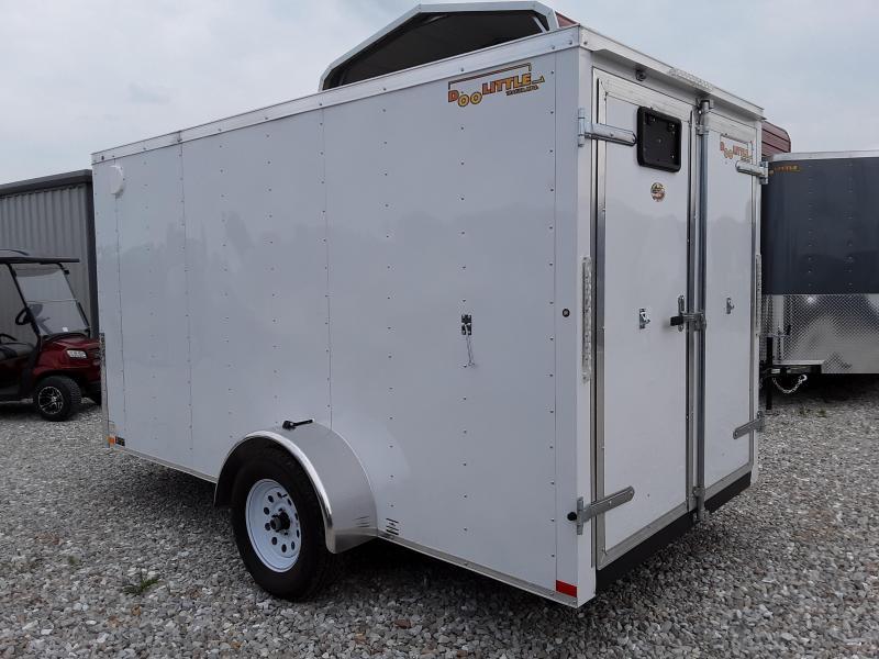 2019 DooLitttle 6 x 12 Enclosed Cargo Trailer W/ Double Doors