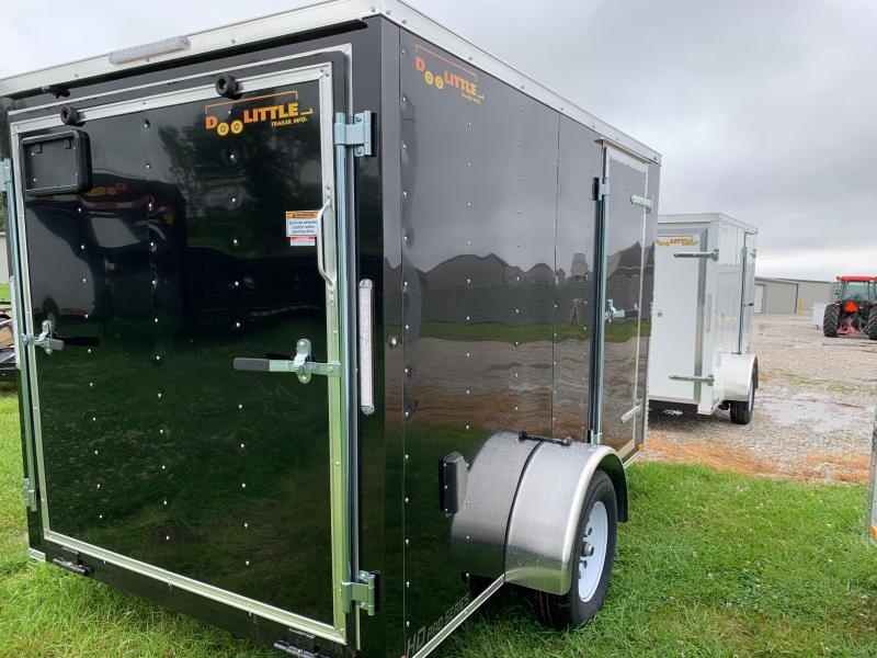 2020 Doolittle Trailer Mfg 6 X 10 CARGO Enclosed Cargo Trailer REAR RAMP DOOR