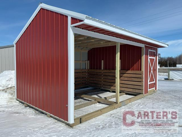 12 X 20 ANIMAL SHELTER BY MIDWEST STORAGE BARNS