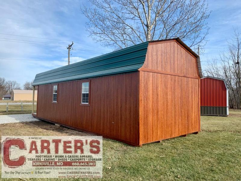 12 X 36 BARN CABIN BY MIDWEST STORAGE BARNS