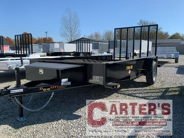 "2021 Doolittle 77"" x 14' SS SERIES Utility Trailer"