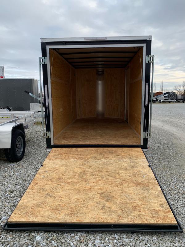 2020 Doolittle Trailer Mfg 6 x 12 Rear Ramp Door Enclosed Cargo Trailer
