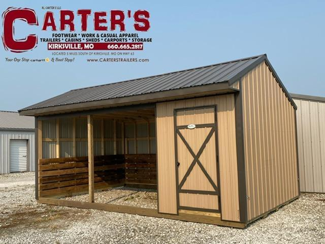 12' X 20' ANIMAL SHELTER BY MIDWEST STORAGE BARNS