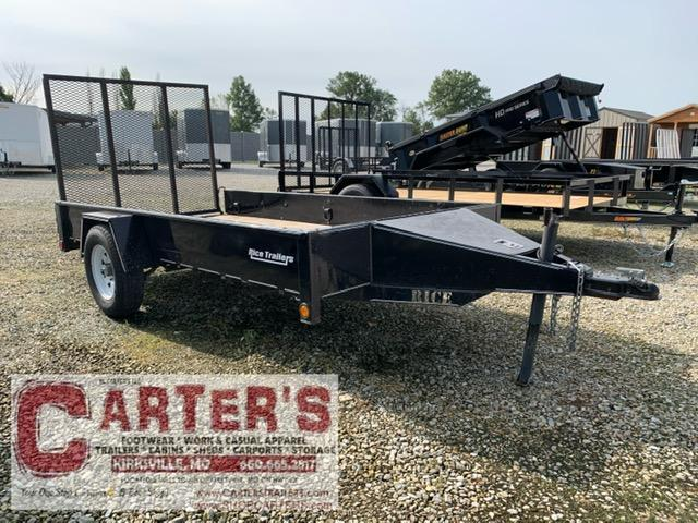 2010 R and W Trailers 5 X 10 Utility Trailer