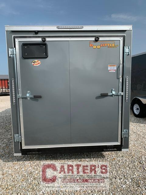 2021 Doolittle Trailer Mfg 6'X12' Enclosed Cargo Trailer REAR RAMP DOOR
