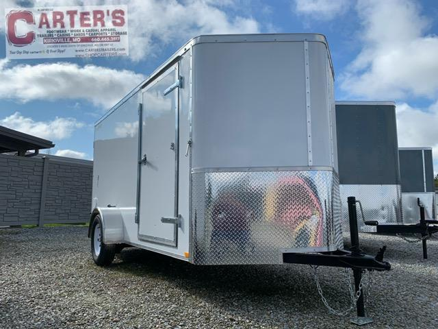 2021 Doolittle Trailer Mfg 6 x 12 Enclosed Cargo Trailer REAR DOUBLE DOORS