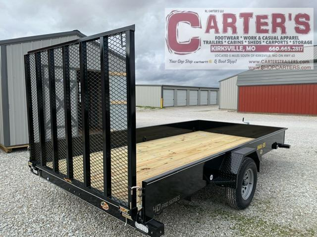 2021 Doolittle Trailer Mfg. 84 x 14 SS SERIES Utility Trailer