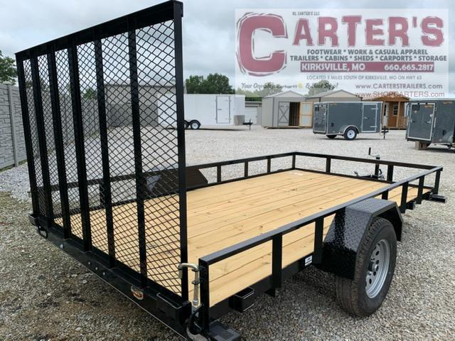 "2021 Doolittle 77"" X 12' RALLY SPORT Utility Trailer"