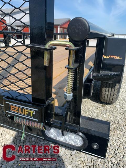 "2021 Doolittle 77"" x 10 Pipe Rail S/A Utility Trailer"