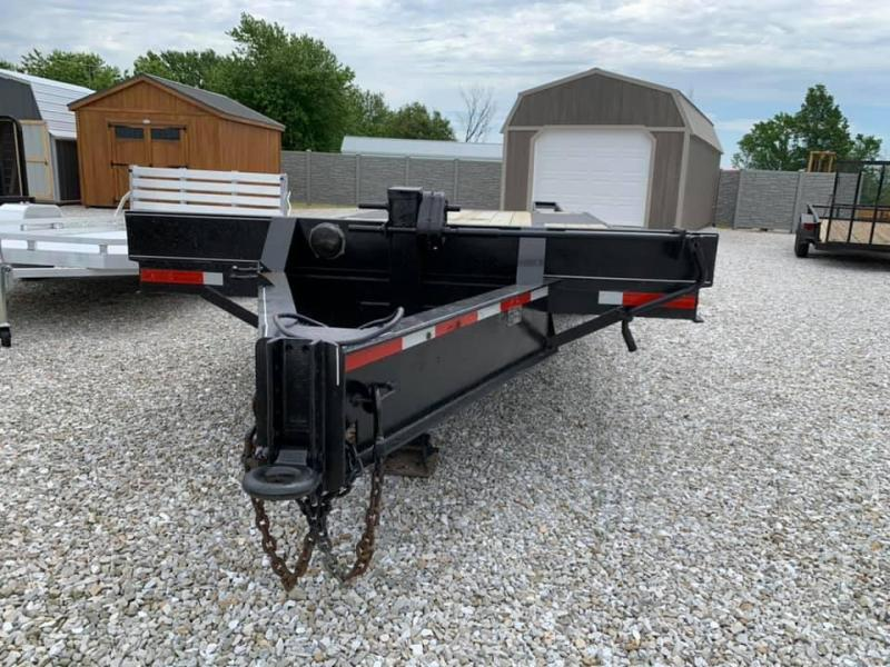 1994 Maxwell 8' X 19' + 5' DOVE Equipment Trailer 20K GVWR