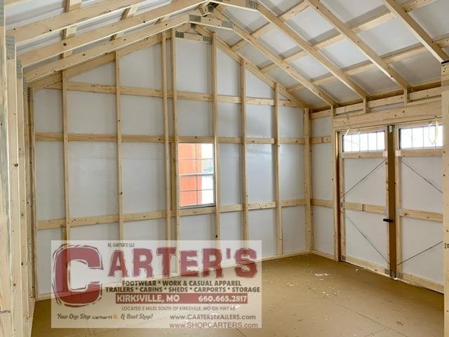 14 X 20 LAKEVIEW BY MIDWEST STORAGE BARNS