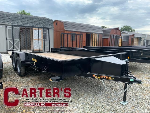 2021 Doolittle Trailer Mfg 84 x 16 SS SERIES T/A Utility Trailer