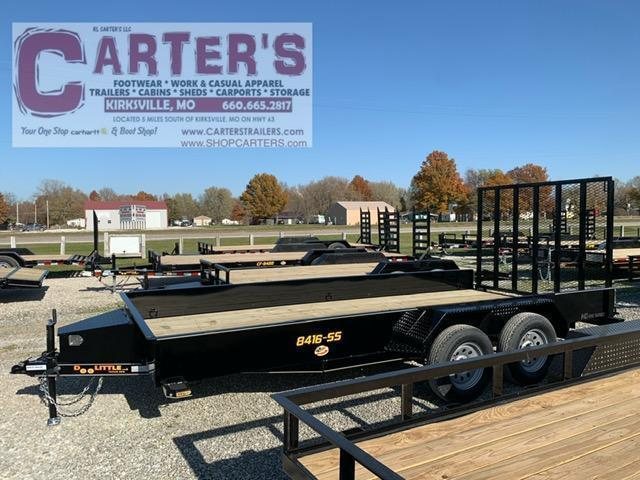 2021 Doolittle Trailer Mfg 84 x 16 SS SERIES T/A Utility Trailer