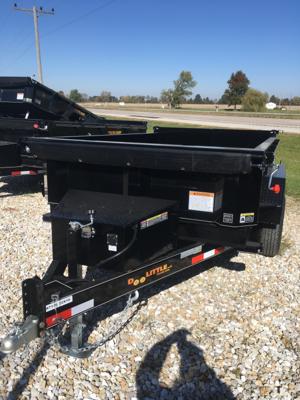 2020 Doolittle Trailer Mfg 72 X 10 MASTER DUMP SINGLE CYLINDER LIFT 10K GVWR