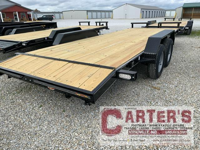 "2021 Doolittle 84"" X 18' + 2' DOVE CF Equipment Trailer"