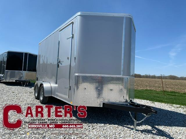 2021 DOOLITTLE TRAILER MFG 7 X 14 CARGO T/A REAR RAMP DOOR + UTV PACKAGE
