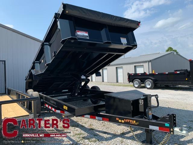 2022 Doolittle 82 x 16 MASTER DUMP TRAILER 14K GVWR SCISSOR LIFT