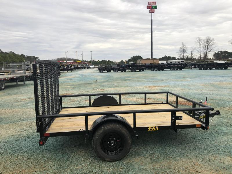 2021 Big Tex 35SA 6 X 10 Single Axle Utility Trailer