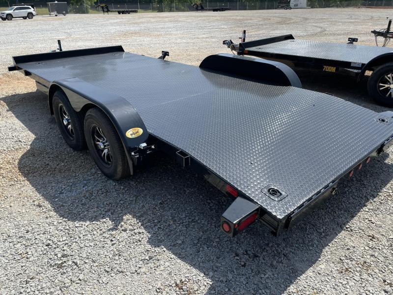2021 Big Tex 83 x 18 Steel Deck Car Trailer