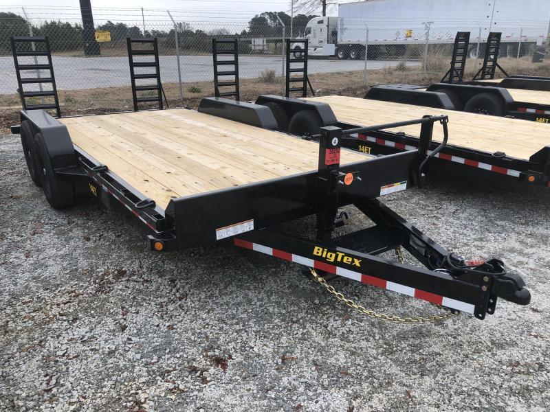 2021 Big Tex 14ET-18KR Super Duty Tandem Axle Equipment Trailer