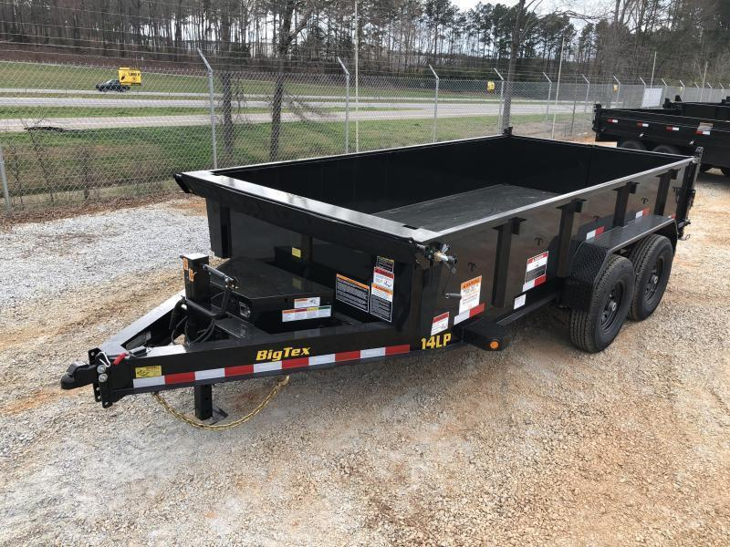 "2021 Big Tex 14LP-14 HD Super Low Profile Dump Trailer (83"" x 14')"
