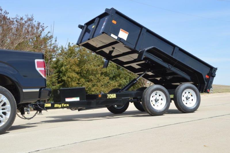 2021 Big Tex 70SR - 5 x 10 Dump Trailer 7k