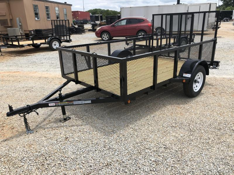 """2021 Superior 6 x 10 Elite Utility Trailer w/ 24"""" Mesh Sides and Spring Assisted Gate"""
