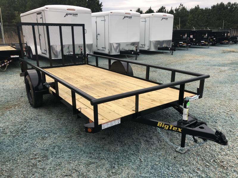 2021 Big Tex 35SA  6 X 14 Single Axle Utility Trailer