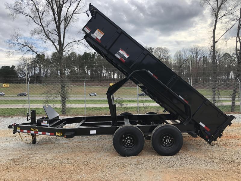"2021 Big Tex 14LP-14 HD Super Low Profile Dump Trailer (83"" x 14') with HD Tires"