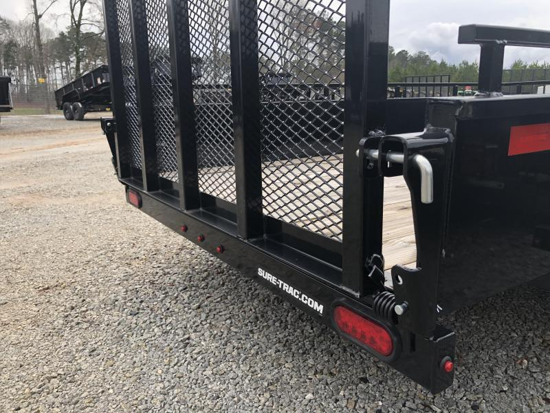 2022 Sure-Trac 6 x 12 Solid Side Utility Trailer