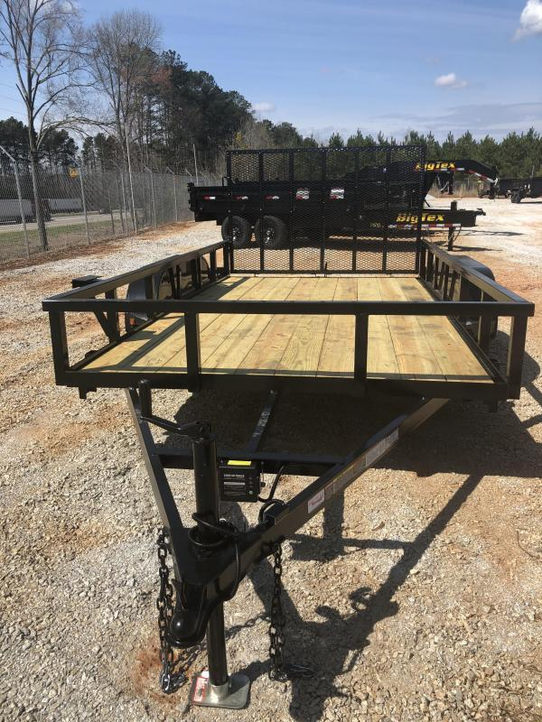 2020 Superior 6 x 12 Elite Tandem Axle Utility Trailer with Spring Assisted Gate