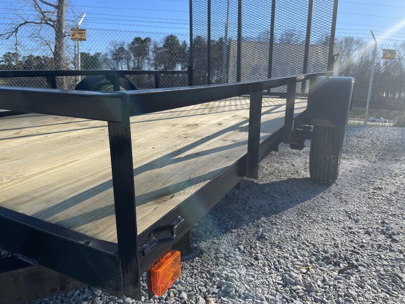 2021 Superior 5 x 10 Standard Utility Trailer - 3500 lb. axle