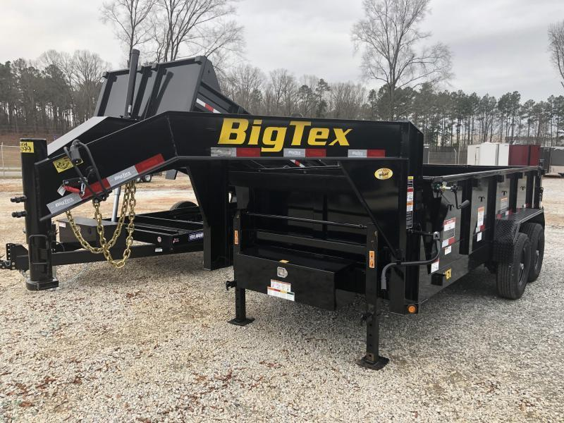"""2022 Big Tex 14GX-14 Heavy Duty Gooseneck Dump Trailer (83""""x14')"""