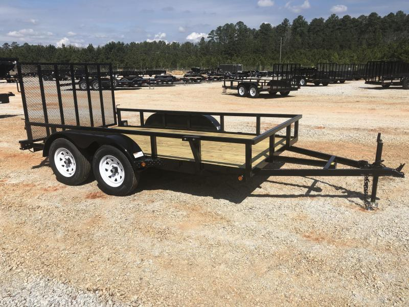 2021 Superior 6x12 Elite Tandem Axle Utility Trailer with Spring Assist Gate