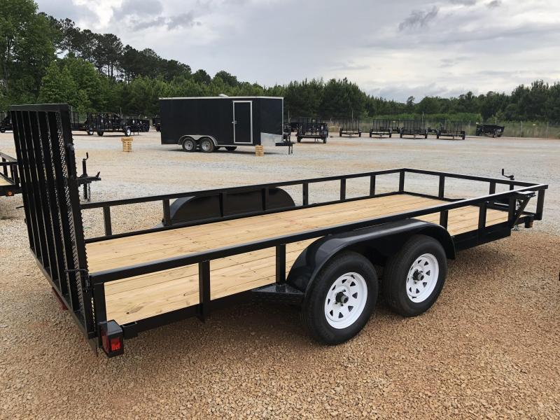 2021 Superior 6 x 16 Elite Tandem Axle Utility Trailer
