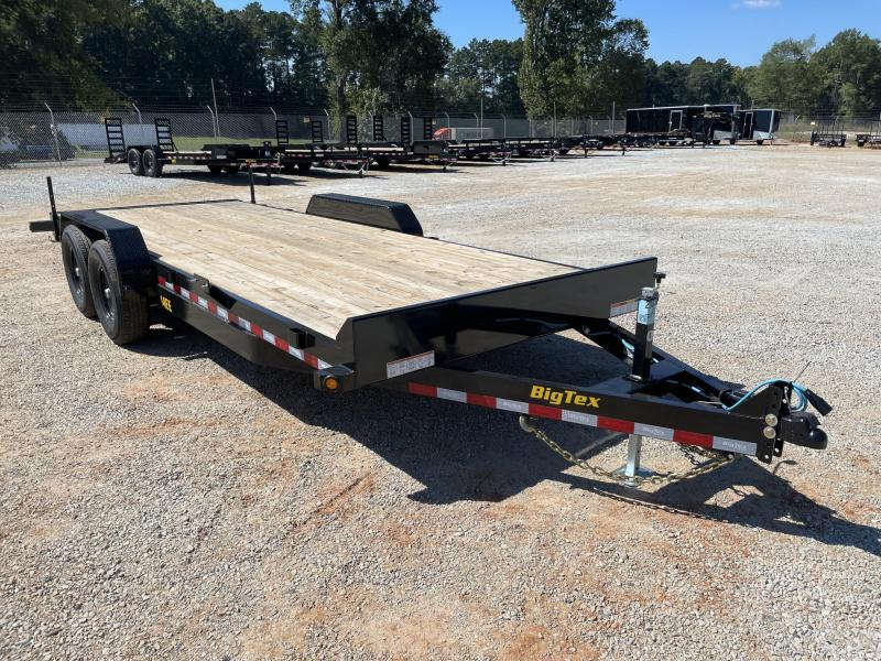 2022 Big Tex 14EE-20 Tandem Axle Equipment Trailer