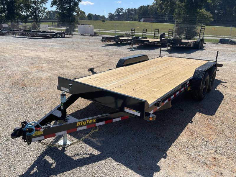 2022 Big Tex 14EE-18 Tandem Axle Equipment Trailer
