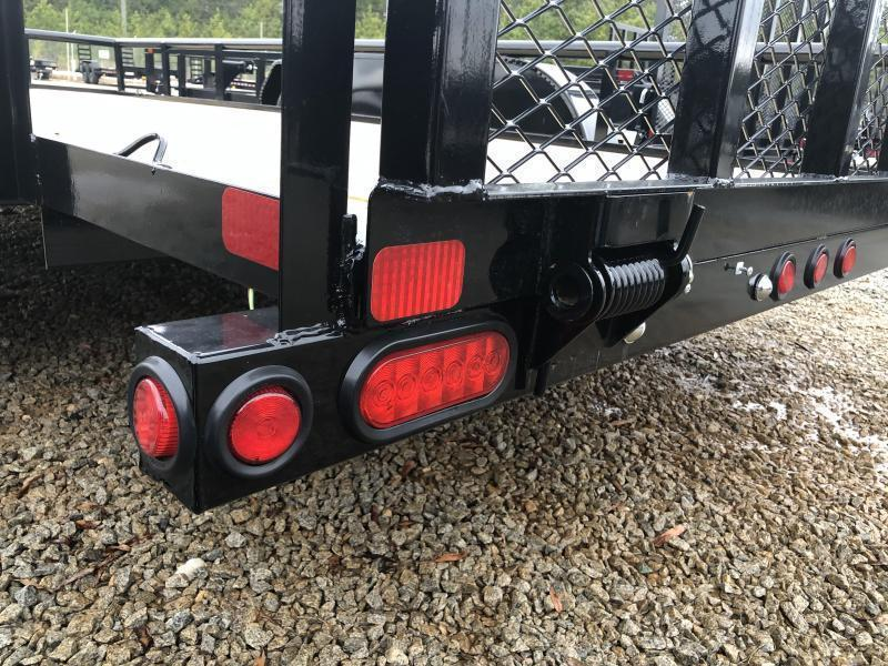 "2022 Big Tex 60PI-16 Tandem Axle Pipe Top Utility Trailer 77""x16'"