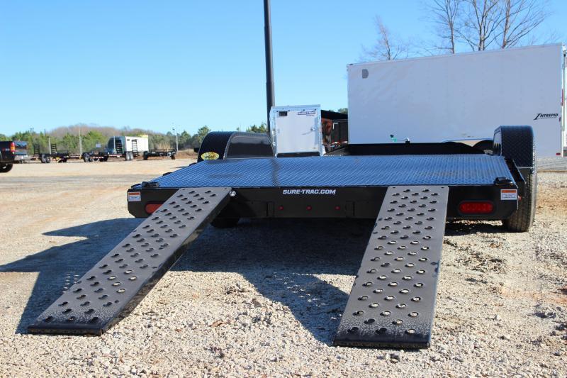 2021 Sure-Trac 7 x 20 Steel Deck Car Hauler  7k