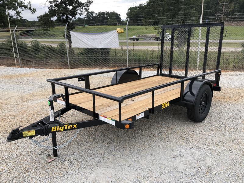 2022 Big Tex 5 X 10 Single Axle Utility Trailer