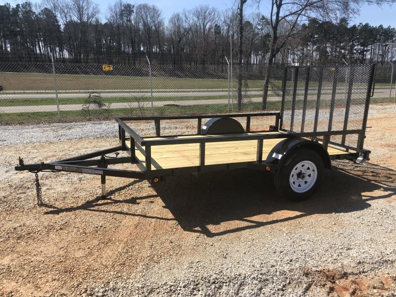 2021 Superior 6 x 10 Elite Utility Trailer With Spring Assist Gate