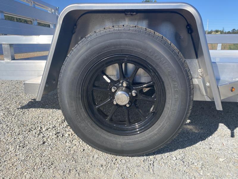 2021 Sure-Trac 7 x 10 Aluminum Low Side Utility Trailer