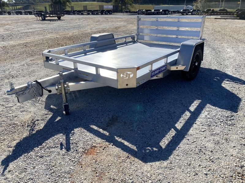 2021 Sure-Trac 7 x 10 Aluminum Low Side Utility Trailer
