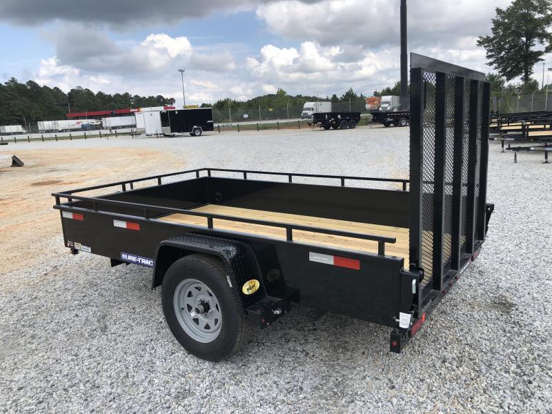 2021 Sure-Trac 6 x 10 Solid Steel High Side Trailer  3k Idler