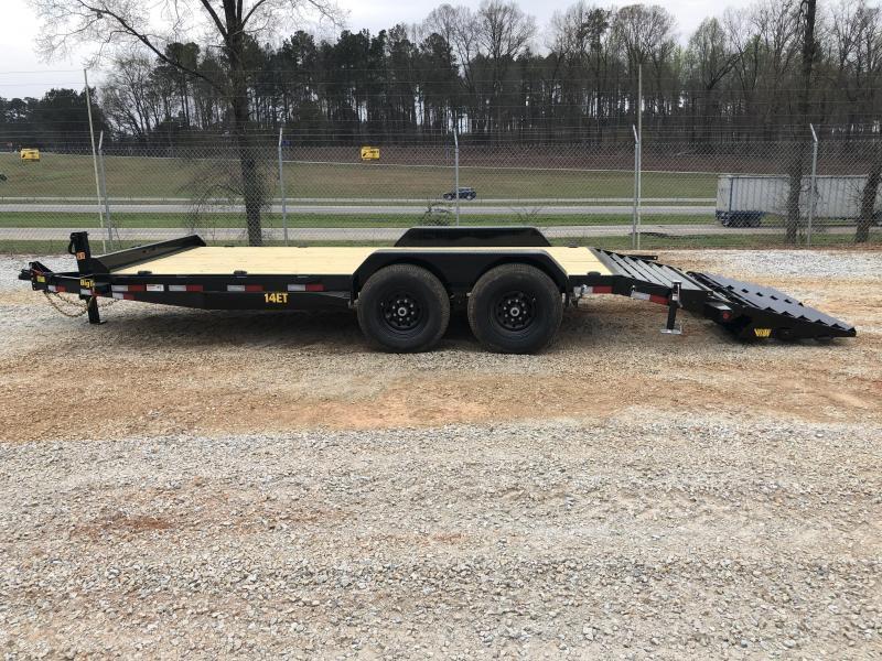 2022 Big Tex 14ET-18MR Super Duty Equipment Trailer w/ Mega Ramps