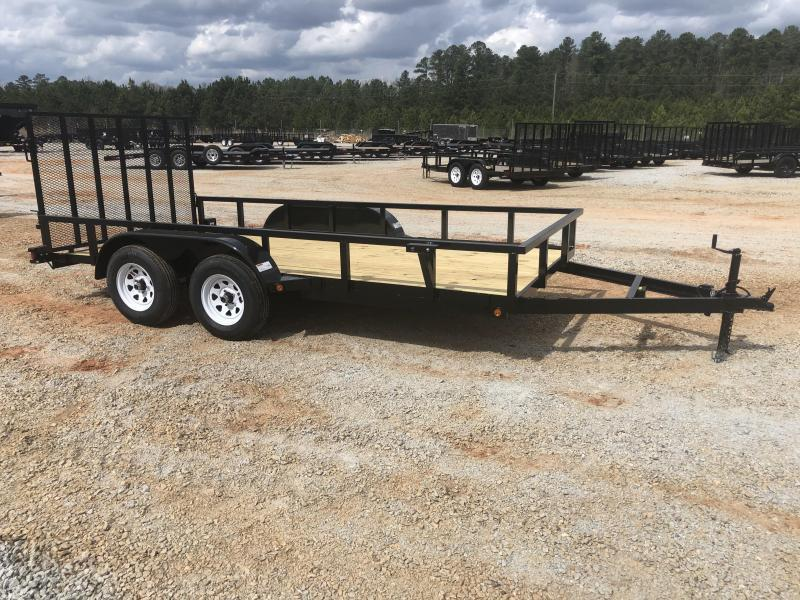 2020 Superior 6 x 14 Elite Tandem Axle Utility Trailer with Spring Assist Gate